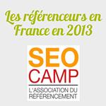 Infographie : les référenceurs en France 2013
